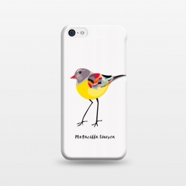 iPhone 5C  Gray Wagtail by Stefania Pochesci (bird,yellow,greywagtail,cute)