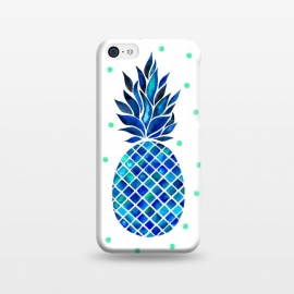 iPhone 5C  Maritime Pineapple by Amaya Brydon