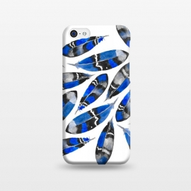 iPhone 5C  Northern Feather Blue by Amaya Brydon ()