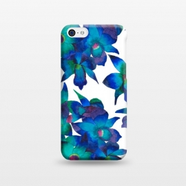 iPhone 5C  Oceanic Orchid Fascination by Amaya Brydon ()