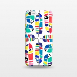 iPhone 5C  Tribal Feathers by Amaya Brydon ()