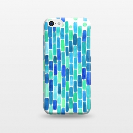 iPhone 5C  Water Mosaic by Amaya Brydon