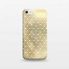 iPhone 5C  Gold Geometry by M.O.K. ()