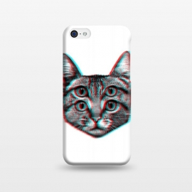 iPhone 5C  3D Cat by Mitxel Gonzalez (cat,pussy,feline,cats,meow,miau,gato,3d)