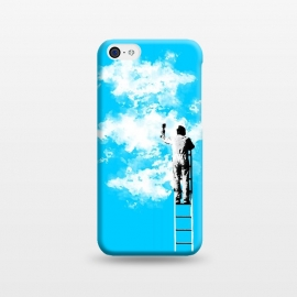 iPhone 5C  Painting clouds by Mitxel Gonzalez ()
