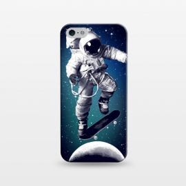iPhone 5/5E/5s  Skateboarding astronaut by Mitxel Gonzalez