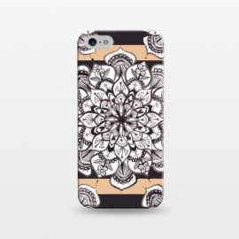 iPhone 5/5E/5s  Mandala 3 by Laura Grant