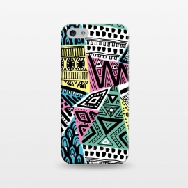 iPhone 5/5E/5s  Tribal triangles by Laura Grant