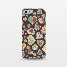 iPhone 5/5E/5s  I Heart Doodling by Micklyn Le Feuvre