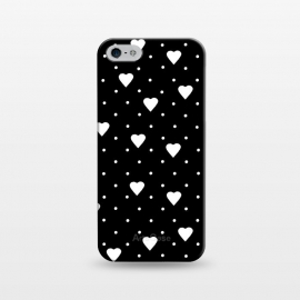 iPhone 5/5E/5s  Pin Point Hearts White by Project M ()