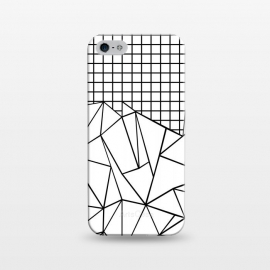 iPhone 5/5E/5s  AB Grid White by Project M ()
