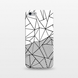 iPhone 5/5E/5s  AB Half and Half White by Project M ()