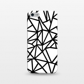 iPhone 5/5E/5s  AB Out Thick White by Project M ()