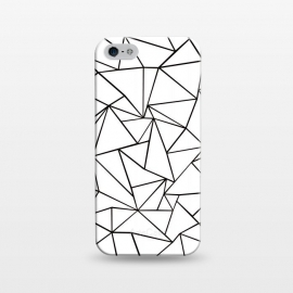 iPhone 5/5E/5s  AB Outline White by Project M