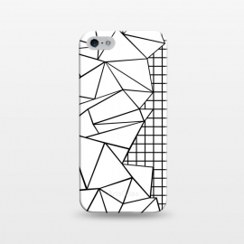 iPhone 5/5E/5s  AB Side Grid White by Project M ()
