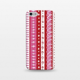 iPhone 5/5E/5s  Loopy Stripe by Kimrhi Studios