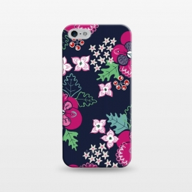 iPhone 5/5E/5s  Pretty Pansy by Kimrhi Studios ()