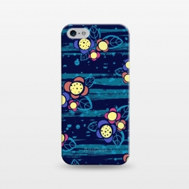 iPhone 5/5E/5s  Surf Floral by Kimrhi Studios ()