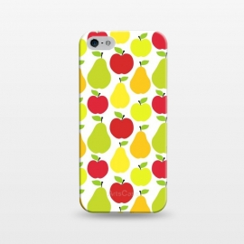 iPhone 5/5E/5s SlimFit Apples and Pears by Martina ()