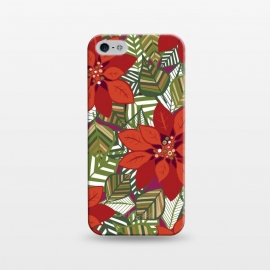 iPhone 5/5E/5s  Poinsettia by Kimrhi Studios ()