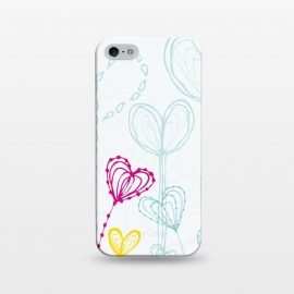 iPhone 5/5E/5s  Love Garden  White by MaJoBV ()