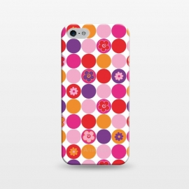 iPhone 5/5E/5s  Spring Circles by Julia Grifol ()