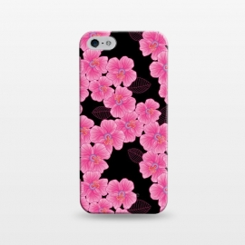 iPhone 5/5E/5s  Pinkon Black by Julia Grifol ()