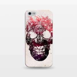 iPhone 5/5E/5s  Floral Skull by Ali Gulec ()