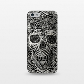 iPhone 5/5E/5s  Lace Skull by Ali Gulec ()