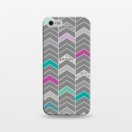 iPhone 5/5E/5s  Chevron Grey by Rosie Simons ()