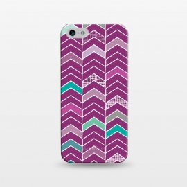 iPhone 5/5E/5s  Chevron Purple by Rosie Simons ()