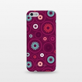 iPhone 5/5E/5s  FloralCogs by Rosie Simons ()