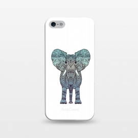 iPhone 5/5E/5s  Elephant Blue by Monika Strigel ()