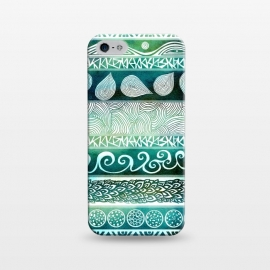 iPhone 5/5E/5s  Dreamy Tribal by Pom Graphic Design ()