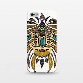 iPhone 5/5E/5s  Emperor Tribal Lion by Pom Graphic Design ()