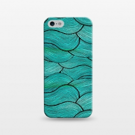 iPhone 5/5E/5s  Sea Waves Pattern by Pom Graphic Design ()