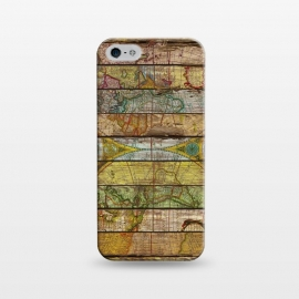 iPhone 5/5E/5s  AROUND THE WORLD IN THIRTEEN MAPS by Diego Tirigall ()