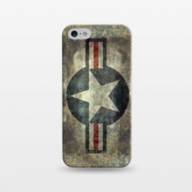 iPhone 5/5E/5s  Airforce Roundel Retro by Bruce Stanfield ()