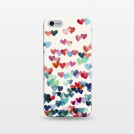 iPhone 5/5E/5s  Heart Connections a watercolor painting by Micklyn Le Feuvre ()