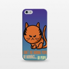 iPhone 5/5E/5s  Cat by Richard Eijkenbroek