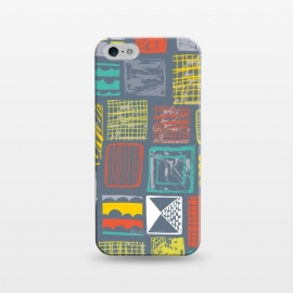 iPhone 5/5E/5s  Square Metropolis Leaves by Rachael Taylor ()