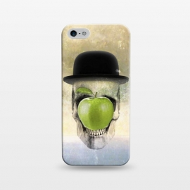 iPhone 5/5E/5s  Magritte Skull by  ()