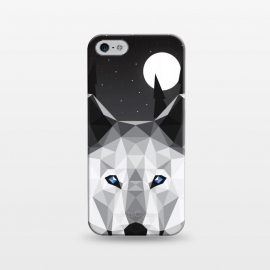 iPhone 5/5E/5s  The Tundra Wolf by Davies Babies