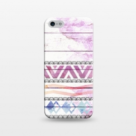 iPhone 5/5E/5s  Aztec Wood Watercolor by Girly Trend ()