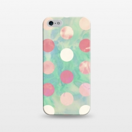 Polka Dots Watercolor Front by Girly Trend