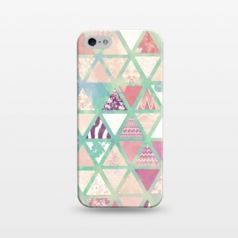 iPhone 5/5E/5s  Triangles sc by Girly Trend ()