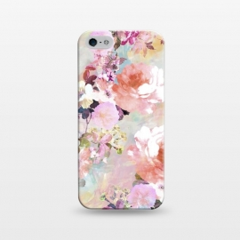 iPhone 5/5E/5s  Watercolor Flowers by Girly Trend ()