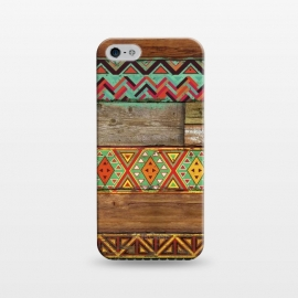 iPhone 5/5E/5s  INDIAN WOOD by Diego Tirigall ()