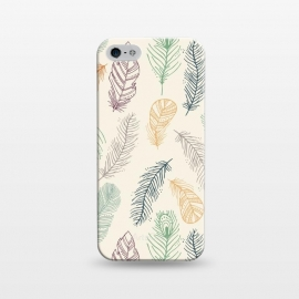 iPhone 5/5E/5s  Feathers by TracyLucy Designs