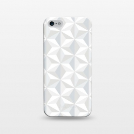 iPhone 5/5E/5s  White Geometry by M.O.K. ()